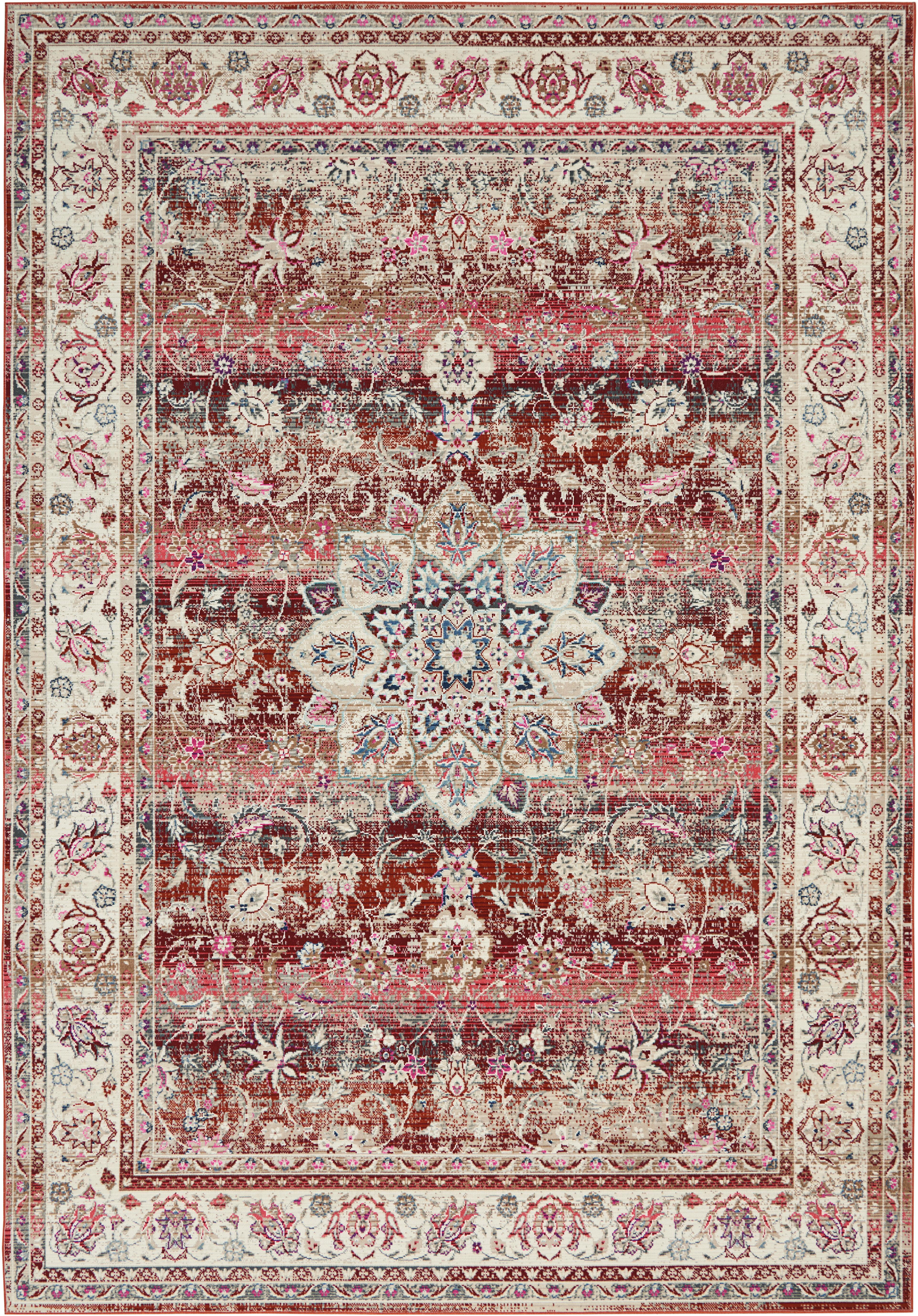 Longweave Teppich Vintage Kashan In Rot Wayfair De