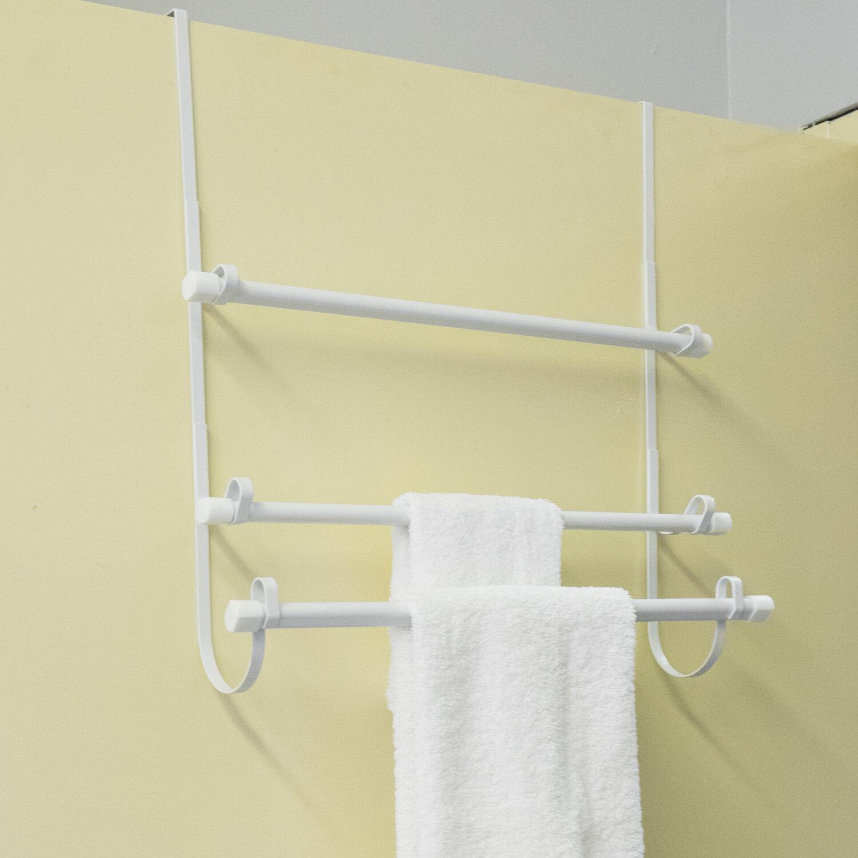 Sweet Home Collection Over-the-Door Towel Rack & Reviews   Wayfair