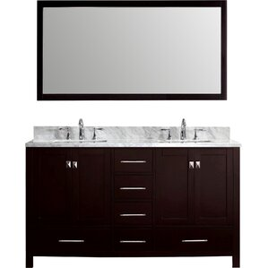 Modern Bathroom Sink Cabinets modern & contemporary bathroom vanities you'll love | wayfair