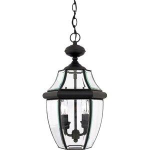 Mellen 2-Light Traditional Outdoor Hanging Lantern
