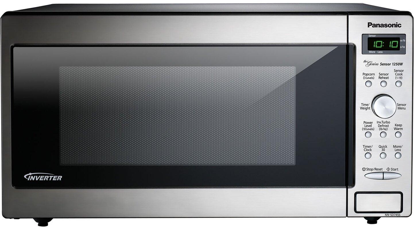 22 1 6 Cu Ft Countertop Built In Microwave With Genius Sensor