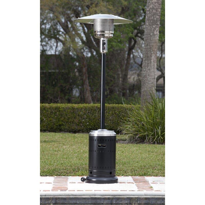 Etonnant Hammer Tone U0026 Stainless Steel Commercial 46,000 BTU Propane Patio Heater