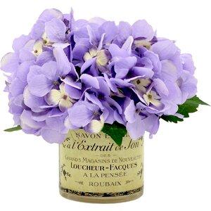 Purple Hydrangea Cluster
