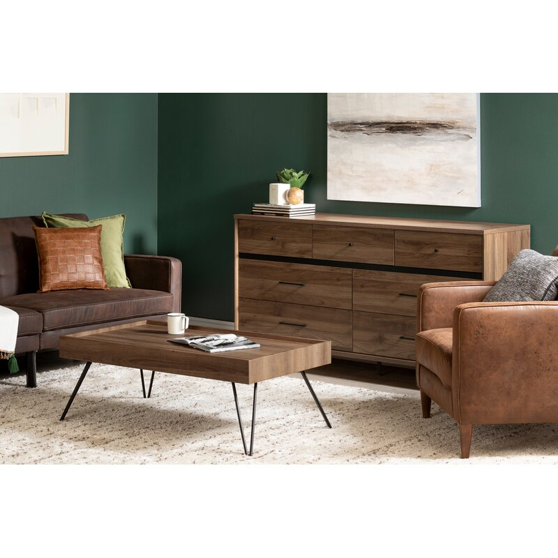 Exceptionnel Slendel Coffee Table With Tray Top