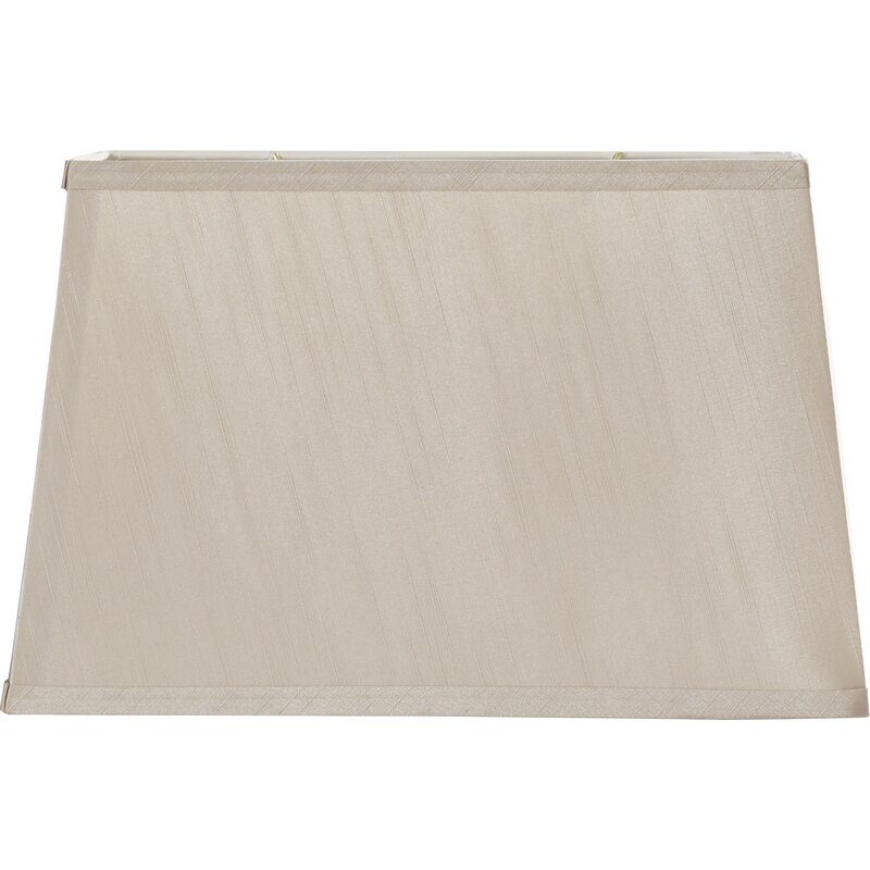 "16"" Fabric Rectangular Lamp Shade"