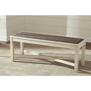 Alsace Upholstered Bench by Lark Manor