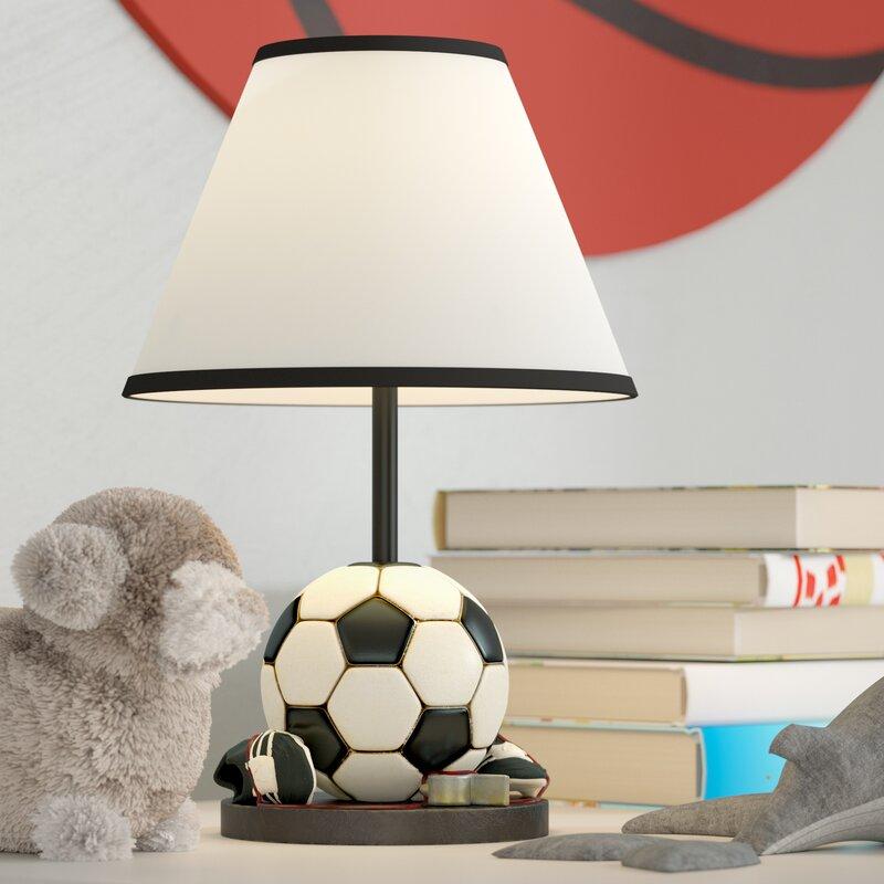 Arlinna Soccer Ball 12 Table Lamp