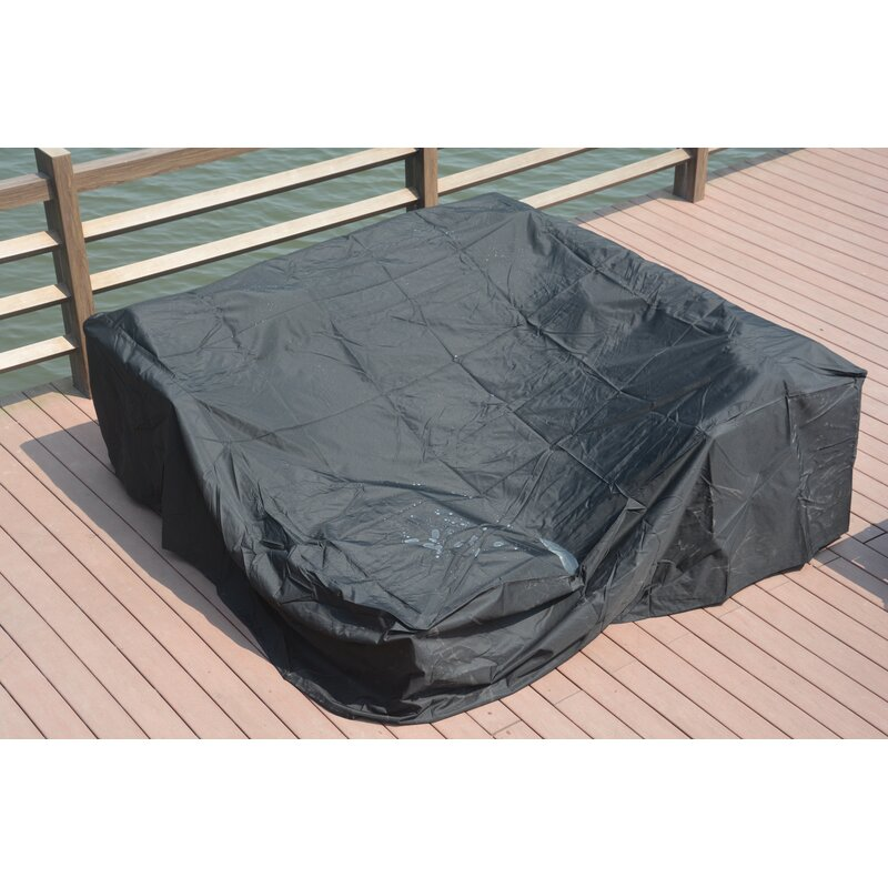 Outdoor Furniture Covers Shop: Freeport Park Square Waterproof Patio Sofa Cover & Reviews