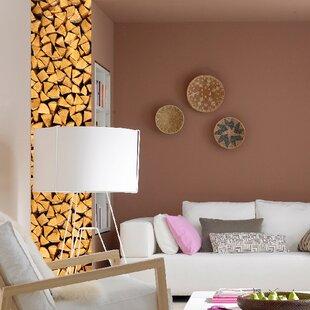 Stripe Euro Wood Wall Decal