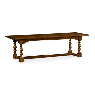 Churchman Library Solid Wood Dining Table