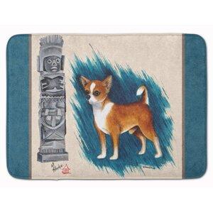 Chihuahua Totem Memory Foam Bath Rug