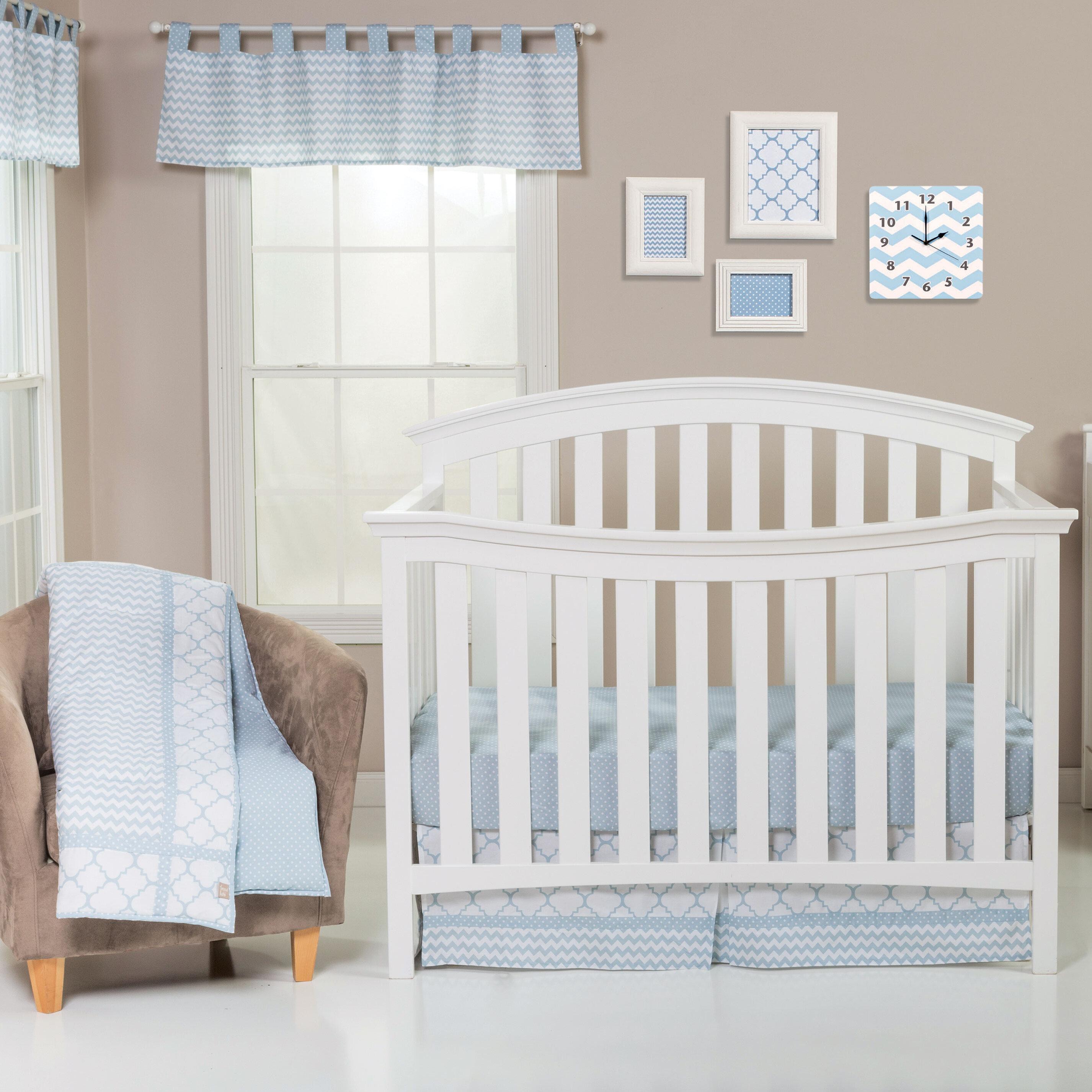 c05087c52a89 Harriet Bee Townsley 3 Piece Crib Bedding Set   Reviews