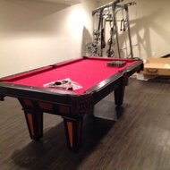 GLD Products Fat Cat Reno Pool Table Reviews Wayfair - Red top pool table