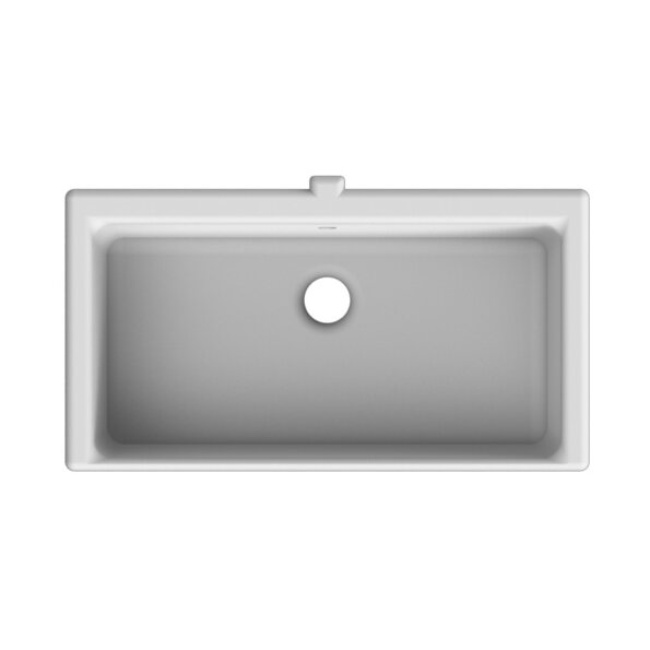 Scarabeo By Nameeks Miky Rectangular Undermount Bathroom Sink With