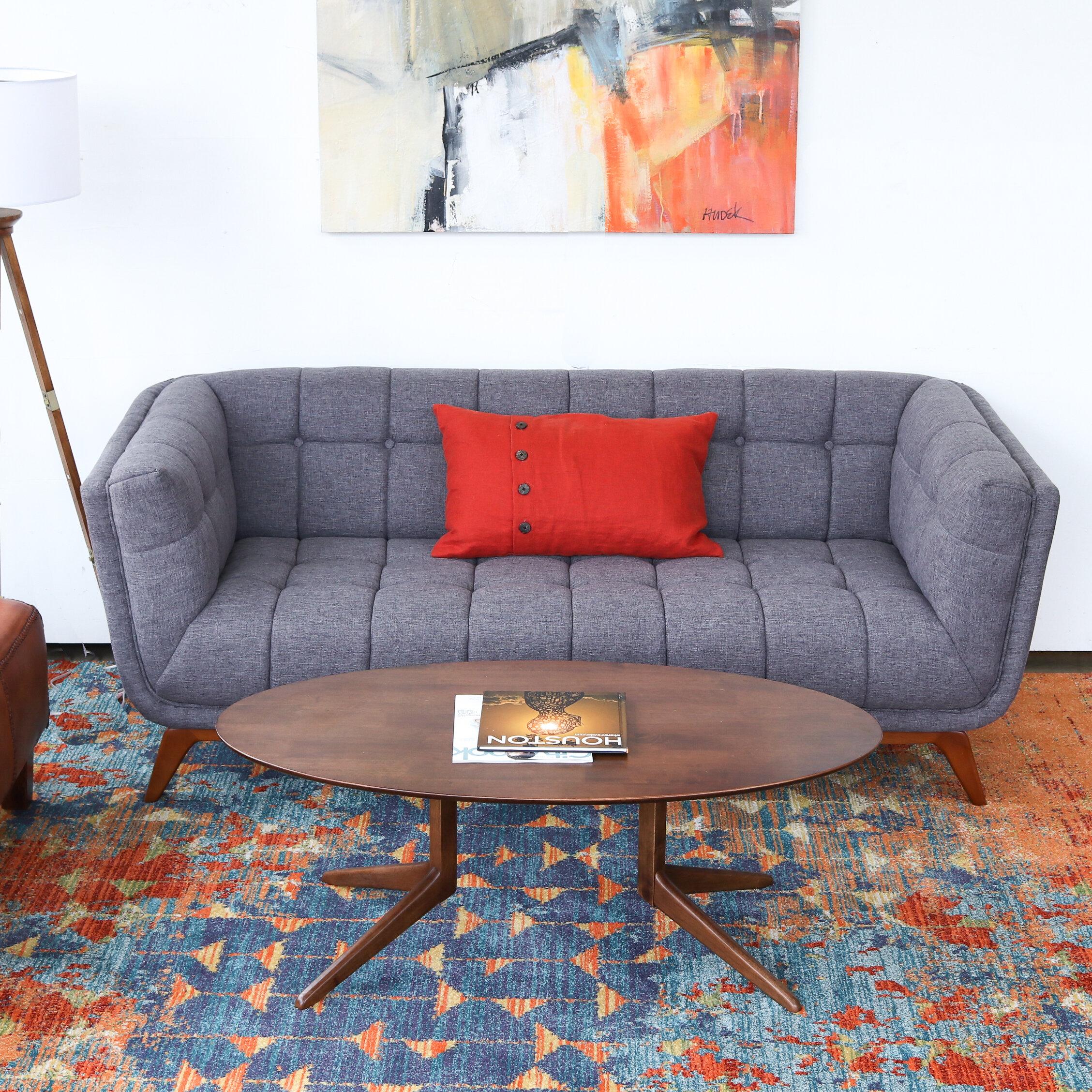 Corrigan Studio Luke Mid Century Modern Sofa Reviews Wayfair