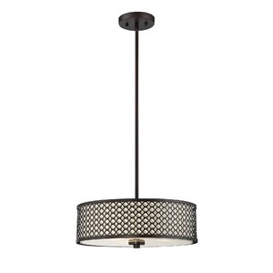 Coolidge 3-Light Drum Pendant