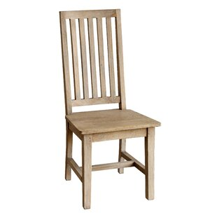 Kissling Solid Wood Dining Chair Set Of 2