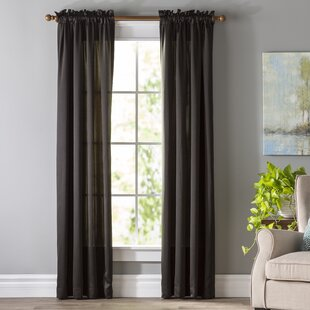 Black White Curtains Drapes Youll Love Wayfair