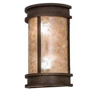 Superior Greenbriar 2 Light Wyant Pocket Lantern Wall Sconce