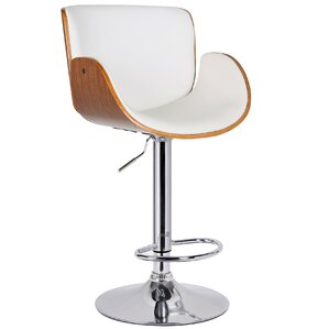 Adjustable Height Swivel Bar Stool by Por..