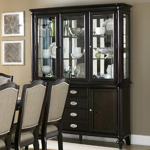 Attractive Rheems Lighted China Cabinet
