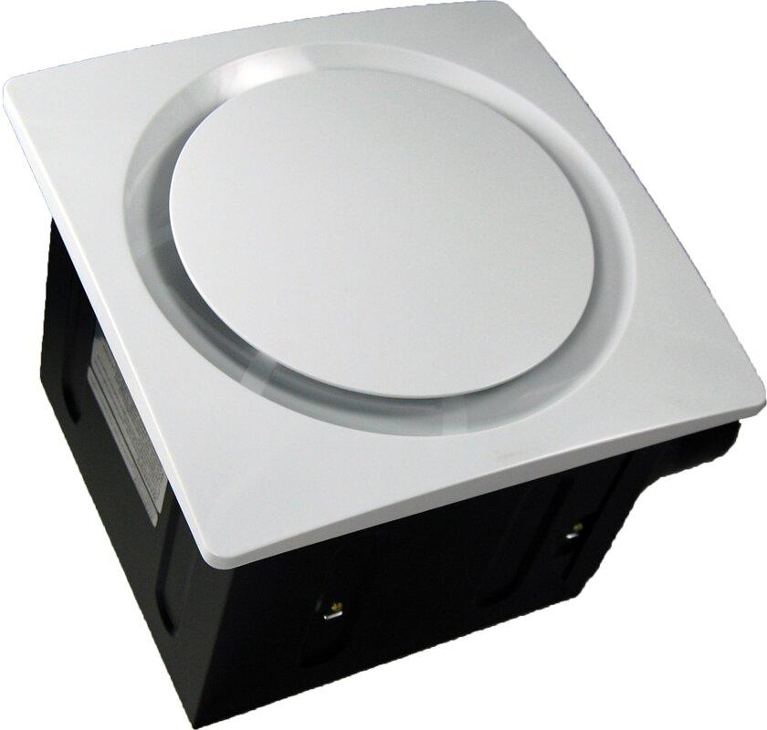 Small Quiet Bathroom Exhaust Fan aero pure super quiet 110 cfm bathroom ventilation fan & reviews