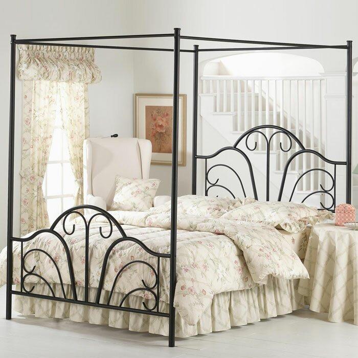 Lark Manor Aksel Canopy Bed Amp Reviews Wayfair
