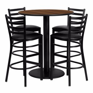 Raabe 5 Piece Pub Table Set by Red Barrel Studio