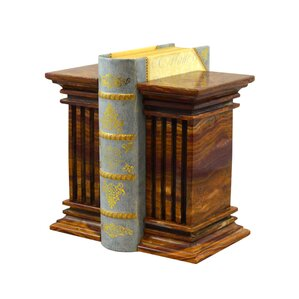 Wonderful Renaissance Marble Bookends (Set Of 2)