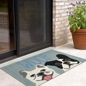 Seavey Le Woof Indoor/Outdoor Door Mat
