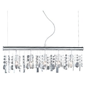 Crystal 5 Light Pendant Lamp