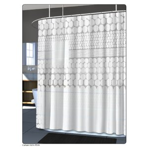PEVA Chunk Shower Curtain