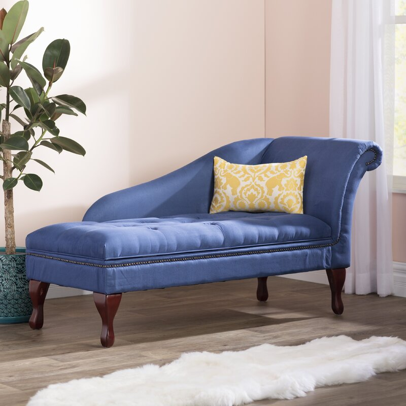 Charmant Boydston Storage Chaise Lounge