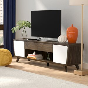 Modern Furniture Tv Stands mid-century modern tv stands you'll love | wayfair