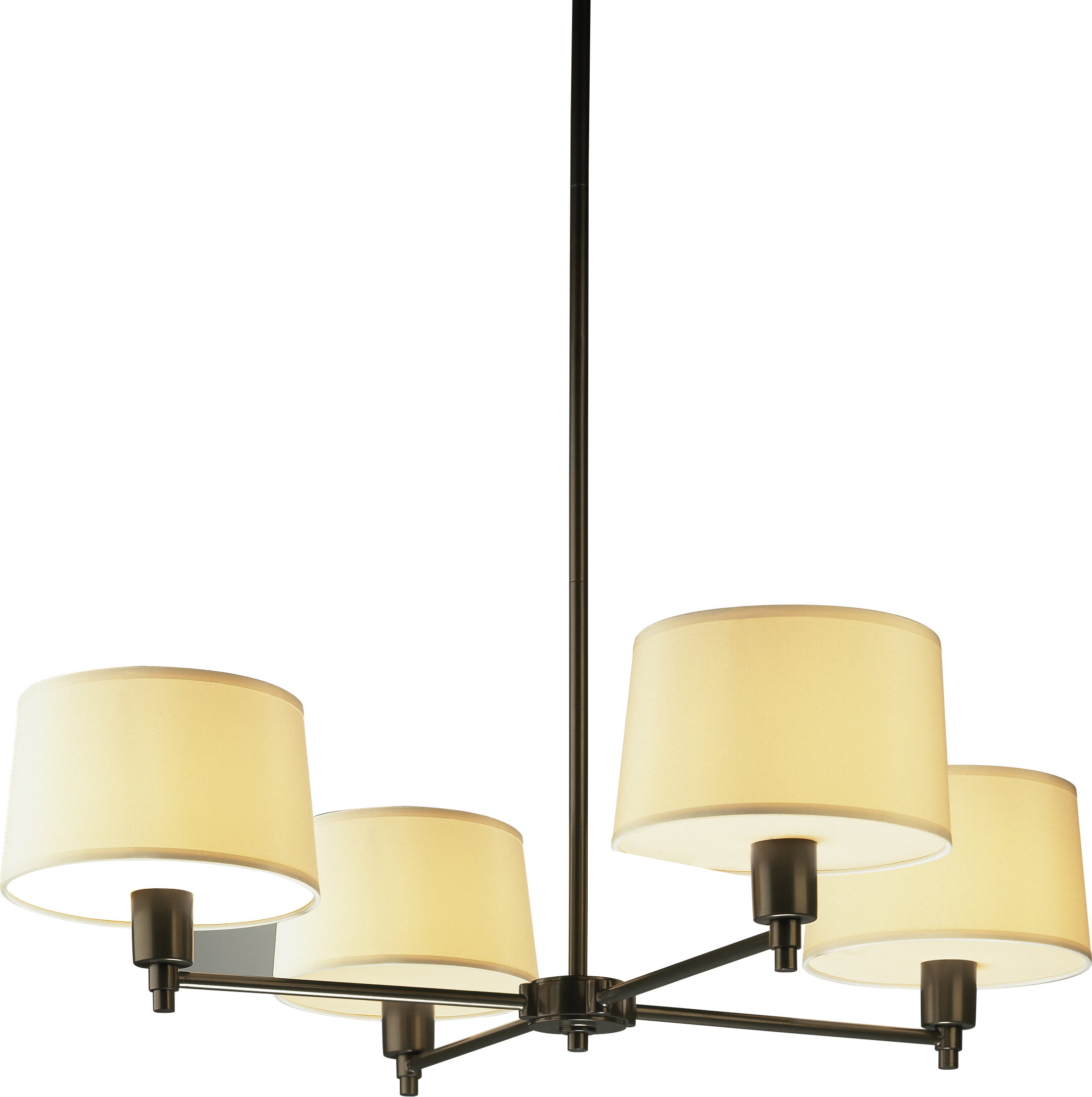 Robert Abbey Real Simple 4 Light Candle Style Chandelier & Reviews