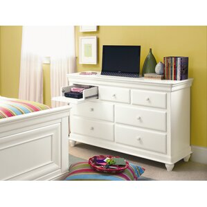 Chassidy 7 Drawer Wood Dresser by Harriet Bee