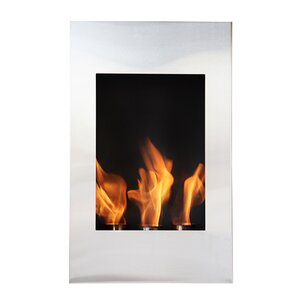 Xelo Wall Mount Ethanol Fireplace by BioFlame