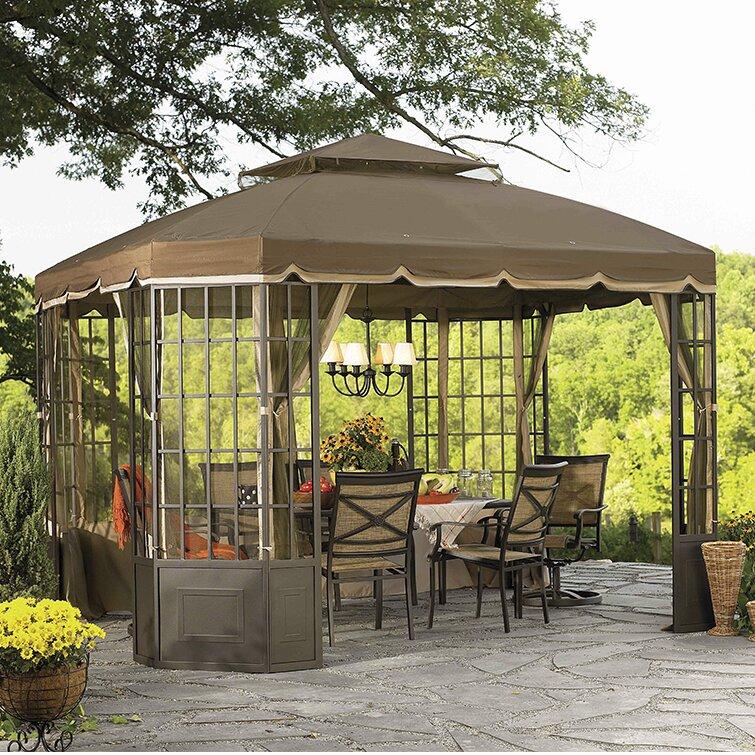 Replacement Canopy For Go Bay Window Gazebo