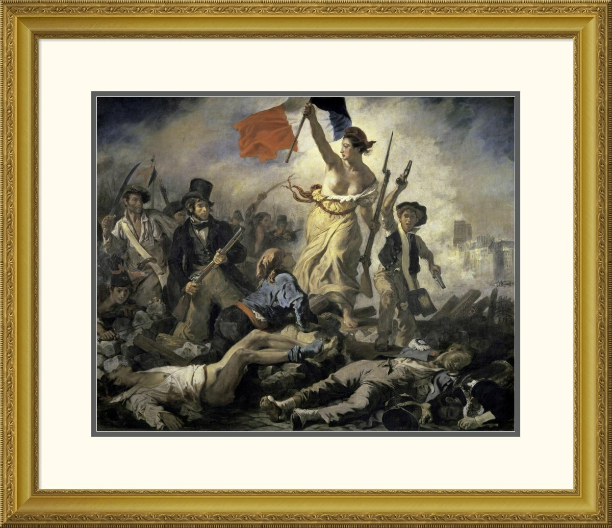 liberty leading the people painting analysis Liberty leading the people, oil painting (1830) by french artist eugène delacroix  commemorating the july revolution in paris that removed charles x, the.