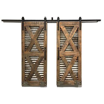 Rustic shutters wall decor wayfair - Decorative interior wall shutters ...