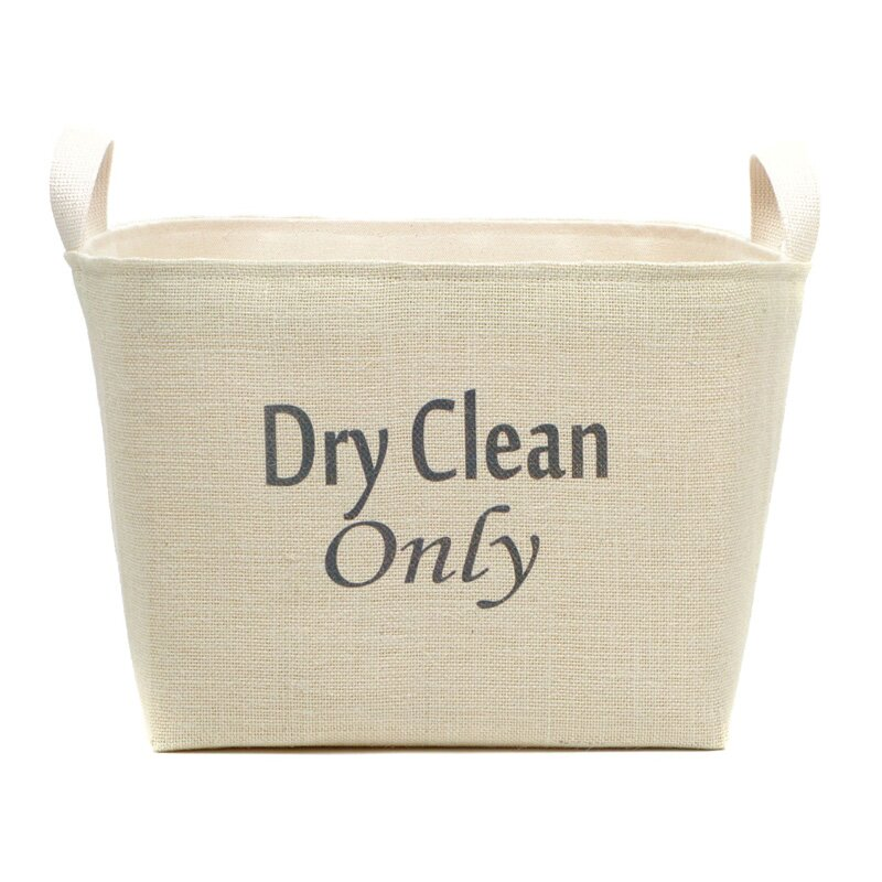 Dry Clean Only Laundry Hamper