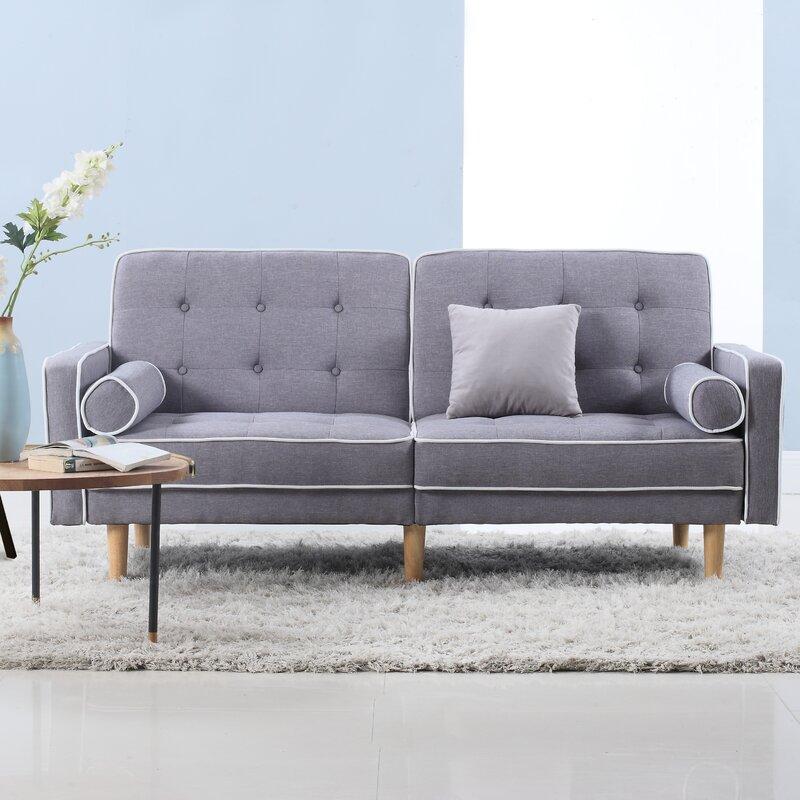 Madison Home Usa Mid Century Modern Convertible Sofa & Reviews