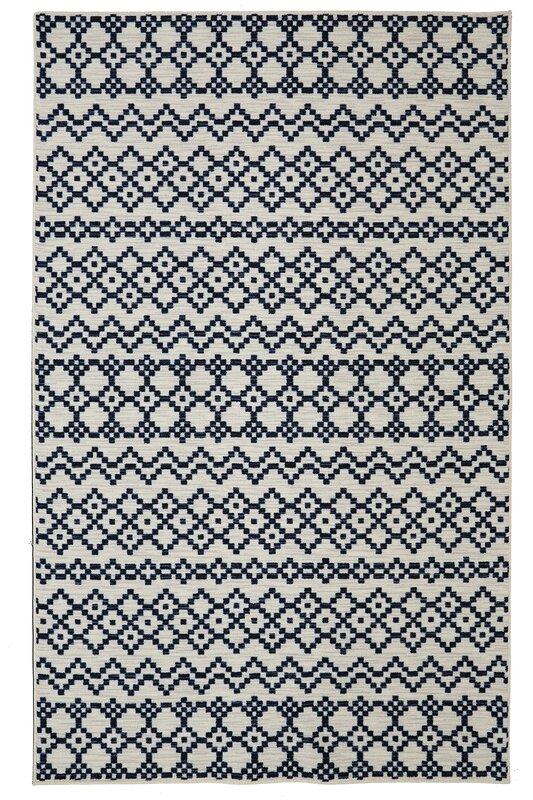 laurel foundry modern farmhouse forcier aztec bands area rug  u0026 reviews