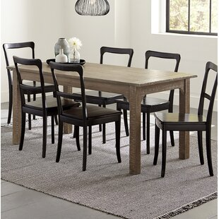 Branson 7 Piece Solid Wood Dining Set