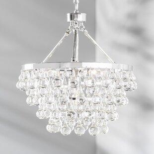 Ahern 5 Light Crystal Chandelier