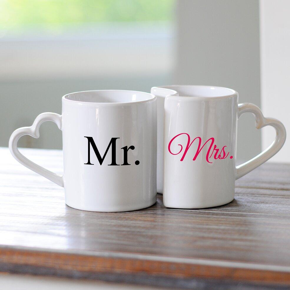 Cathys Concepts Mr And Mrs Coffee Mug Set Amp Reviews