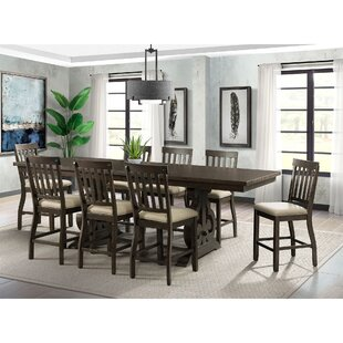 2c420e97b224 9 Piece Counter Height Kitchen & Dining Room Sets You'll Love in ...