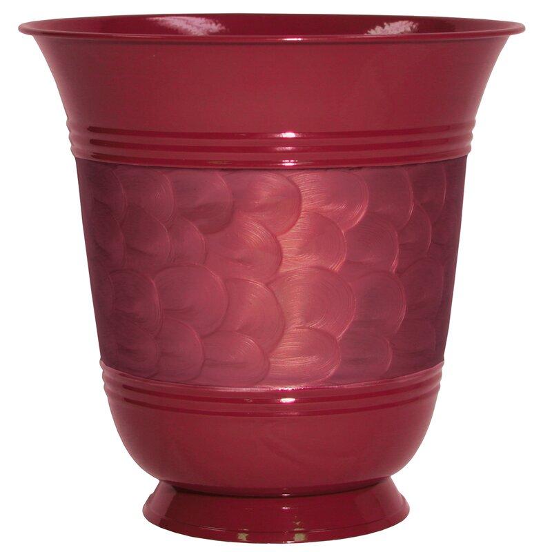 Robert Allen Home And Garden Steel Pot Planter Reviews Wayfair