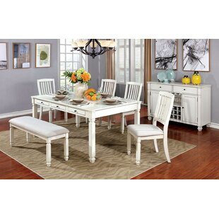 Dayse 6 Piece Breakfast Nook Dining Set Wonderful