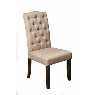 Fairgrove Button Tufted Upholstered Dining Chair (Set of 2)